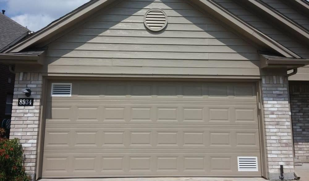 Garage Door Ventilation