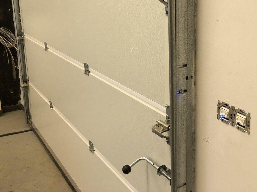 Plastered-Garage-Wall